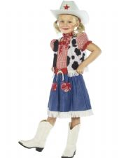 Childs Cowgirl Sweetie Girls Costume